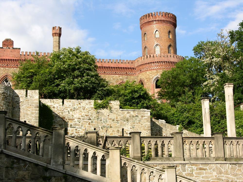 Kamieniec Ząbkowicki - zamek