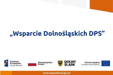 Wsparcie Dolnośląskich DPS
