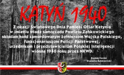 Światowy Dzień Pamięci Ofiar Katynia