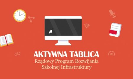 """""""Aktywna tablica"""" w szkołach powiatu ząbkowickiego"""